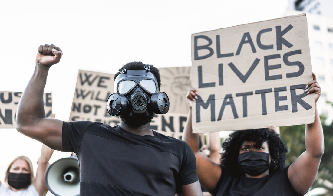 BLM rioters protesters